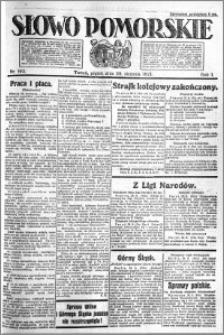 Słowo Pomorskie 1921.08.26 R.1 nr 193