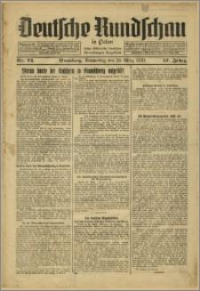 Deutsche Rundschau in Polen. J. 57, 1933, nr 74