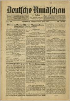 Deutsche Rundschau in Polen. J. 57, 1933, nr 77