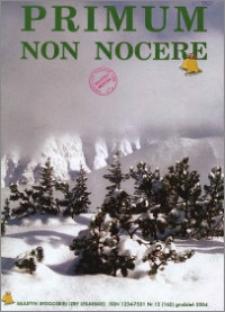 Primum Non Nocere 2004 nr 12