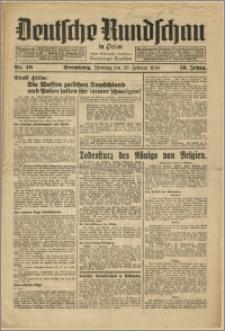 Deutsche Rundschau in Polen. J. 58, 1934, nr 40