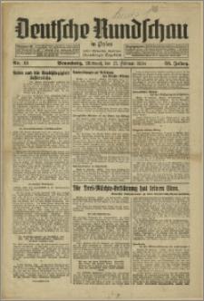 Deutsche Rundschau in Polen. J. 58, 1934, nr 41