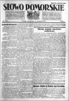 Słowo Pomorskie 1921.09.03 R.1 nr 200