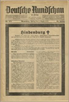 Deutsche Rundschau in Polen. J. 58, 1934, nr 174