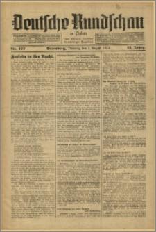 Deutsche Rundschau in Polen. J. 58, 1934, nr 177