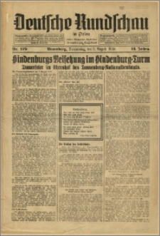 Deutsche Rundschau in Polen. J. 58, 1934, nr 179