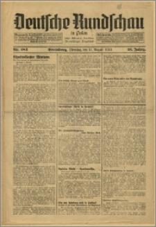 Deutsche Rundschau in Polen. J. 58, 1934, nr 183