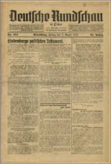 Deutsche Rundschau in Polen. J. 58, 1934, nr 185