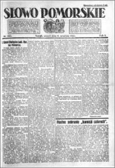 Słowo Pomorskie 1921.09.06 R.1 nr 202