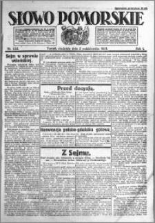 Słowo Pomorskie 1921.10.02 R.1 nr 225