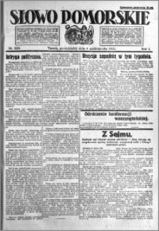Słowo Pomorskie 1921.10.04 R.1 nr 226