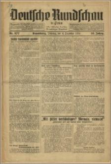 Deutsche Rundschau in Polen. J. 58, 1934, nr 277