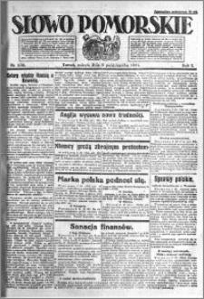 Słowo Pomorskie 1921.10.08 R.1 nr 230