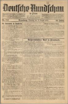 Deutsche Rundschau in Polen. J. 59, 1935, nr 184