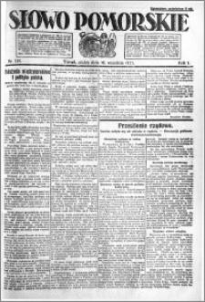 Słowo Pomorskie 1921.09.16 R.1 nr 211