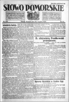 Słowo Pomorskie 1921.09.18 R.1 nr 213