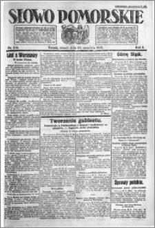 Słowo Pomorskie 1921.09.20 R.1 nr 214