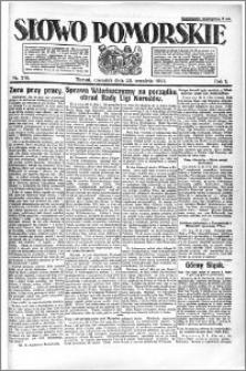 Słowo Pomorskie 1921.09.22 R.1 nr 216