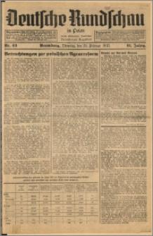 Deutsche Rundschau in Polen. J. 61, 1937, nr 43