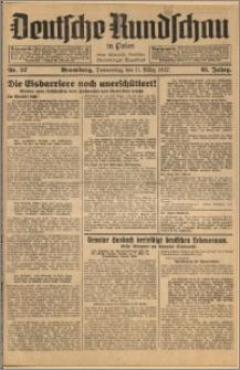 Deutsche Rundschau in Polen. J. 61, 1937, nr 57