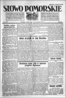 Słowo Pomorskie 1921.09.23 R.1 nr 217