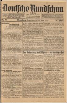 Deutsche Rundschau in Polen. J. 61, 1937, nr 91