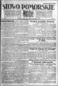 Słowo Pomorskie 1921.10.29 R.1 nr 248