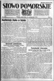 Słowo Pomorskie 1921.10.28 R.1 nr 247