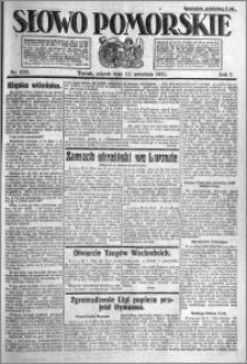 Słowo Pomorskie 1921.09.27 R.1 nr 220