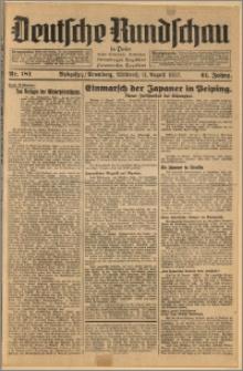 Deutsche Rundschau in Polen. J. 61, 1937, nr 181