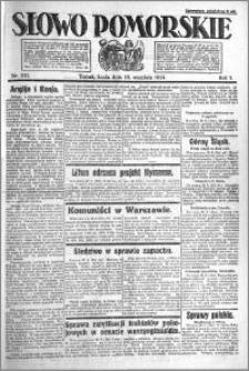Słowo Pomorskie 1921.09.28 R.1 nr 221