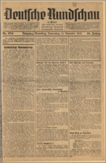 Deutsche Rundschau in Polen. J. 61, 1937, nr 259
