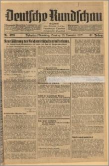 Deutsche Rundschau in Polen. J. 61, 1937, nr 273