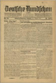 Deutsche Rundschau in Polen. J. 62, 1938, nr 191