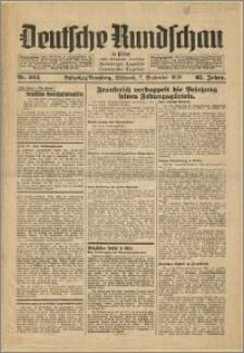 Deutsche Rundschau in Polen. J. 62, 1938, nr 203