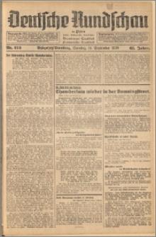 Deutsche Rundschau in Polen. J. 62, 1938, nr 213