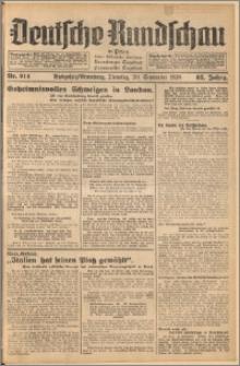 Deutsche Rundschau in Polen. J. 62, 1938, nr 214