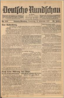 Deutsche Rundschau in Polen. J. 62, 1938, nr 216