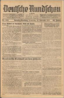 Deutsche Rundschau in Polen. J. 62, 1938, nr 222