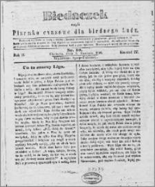 Biedaczek : czyli mały i tani tygodnik dla biednego ludu, 1849.12.05 R. 2 nr 19