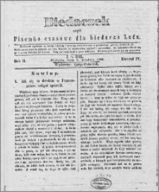 Biedaczek : czyli mały i tani tygodnik dla biednego ludu, 1849.12.08 R. 2 nr 20