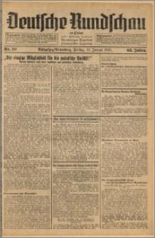 Deutsche Rundschau in Polen. J. 63, 1939, nr 10