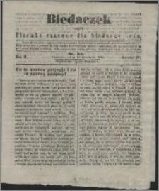 Biedaczek : czyli mały i tani tygodnik dla biednego ludu, 1849.12.19 R. 2 nr 23