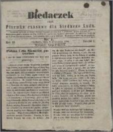 Biedaczek : czyli mały i tani tygodnik dla biednego ludu, 1850.01.02 R. 3 nr 1