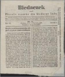 Biedaczek : czyli mały i tani tygodnik dla biednego ludu, 1850.01.05 R. 3 nr 2