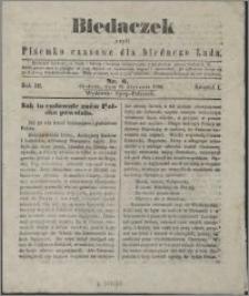 Biedaczek : czyli mały i tani tygodnik dla biednego ludu, 1850.01.19 R. 3 nr 6