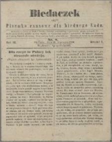 Biedaczek : czyli mały i tani tygodnik dla biednego ludu, 1850.01.26 R. 3 nr 8