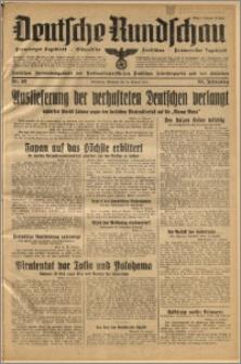 Deutsche Rundschau. J. 64, 1940, nr 20