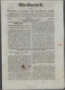 Biedaczek : czyli mały i tani tygodnik dla biednego ludu, 1850.02.20 R. 3 nr 15