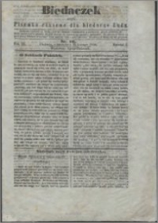Biedaczek : czyli mały i tani tygodnik dla biednego ludu, 1850.02.23 R. 3 nr 16